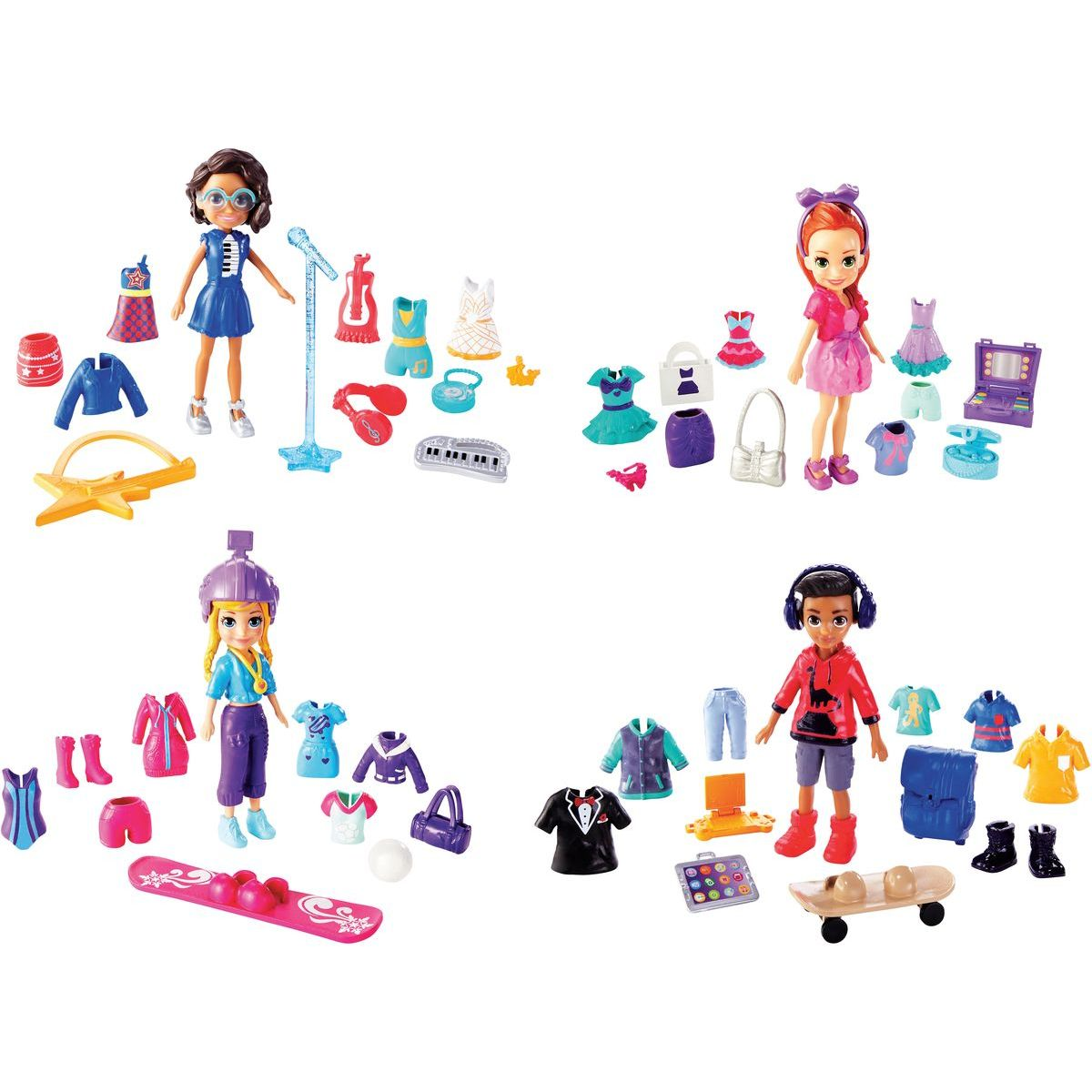 Mattel Polly Pocket módne super kolekcia