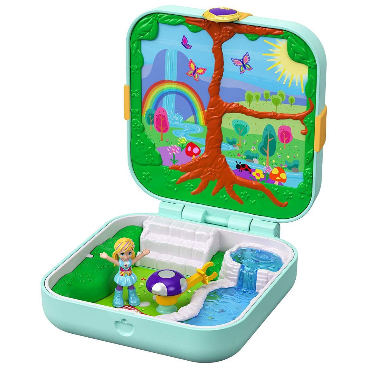 Mattel Polly Pocket pidi svet v krabičke Flutterrific Forest