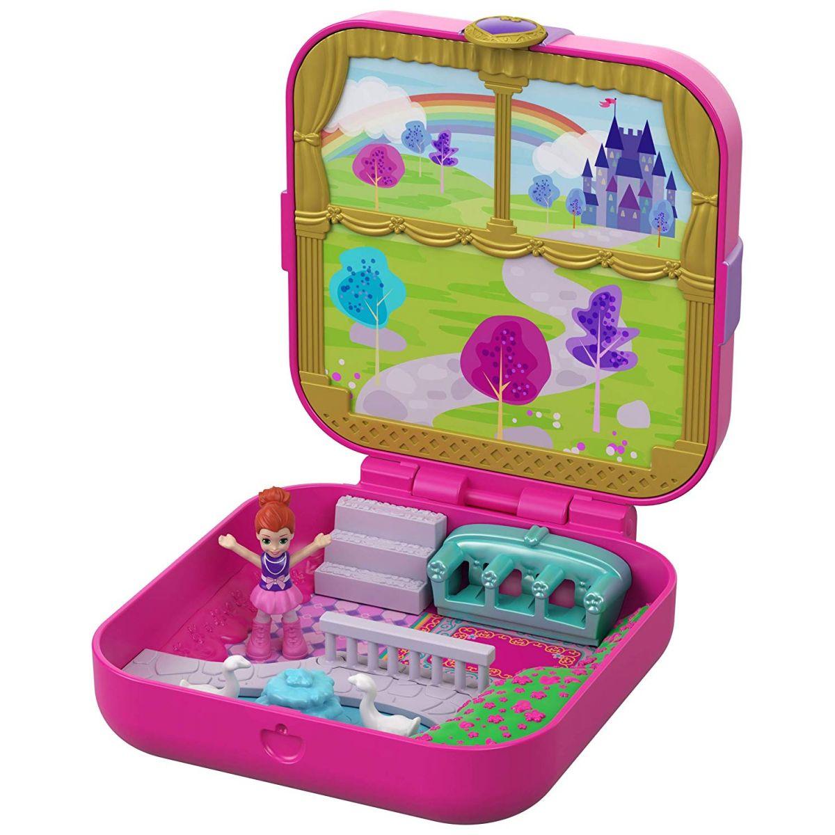 Mattel Polly Pocket pidi svet v krabičke Lil Princess Pad
