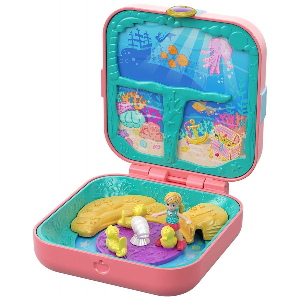 Mattel Polly Pocket pidi svet v krabičke Mermaid Cove