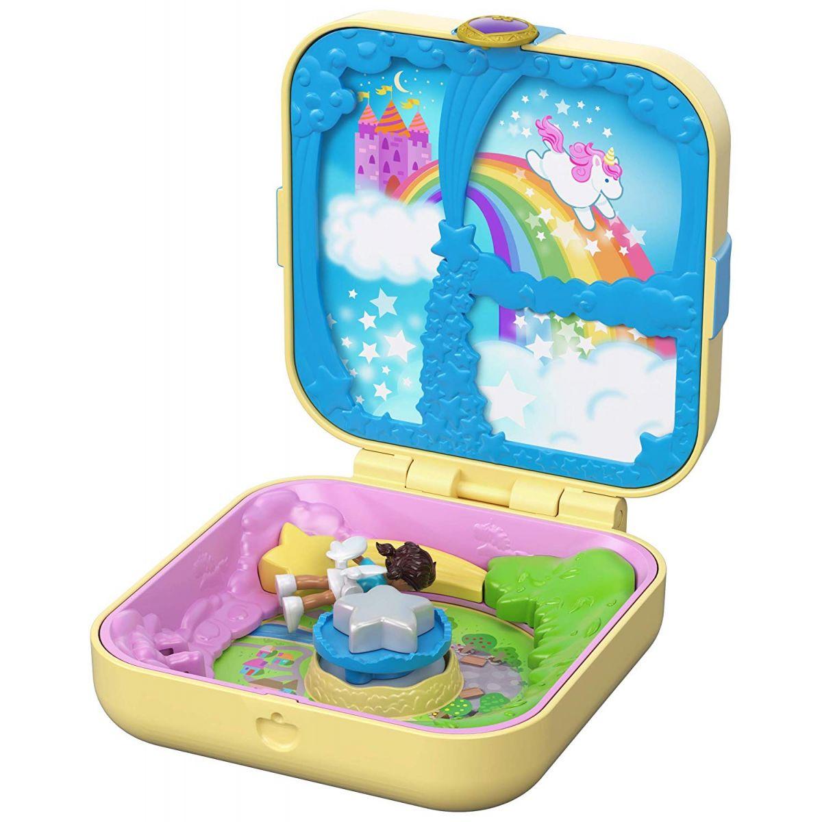 Mattel Polly Pocket pidi svet v krabičke Unicorn Utopia