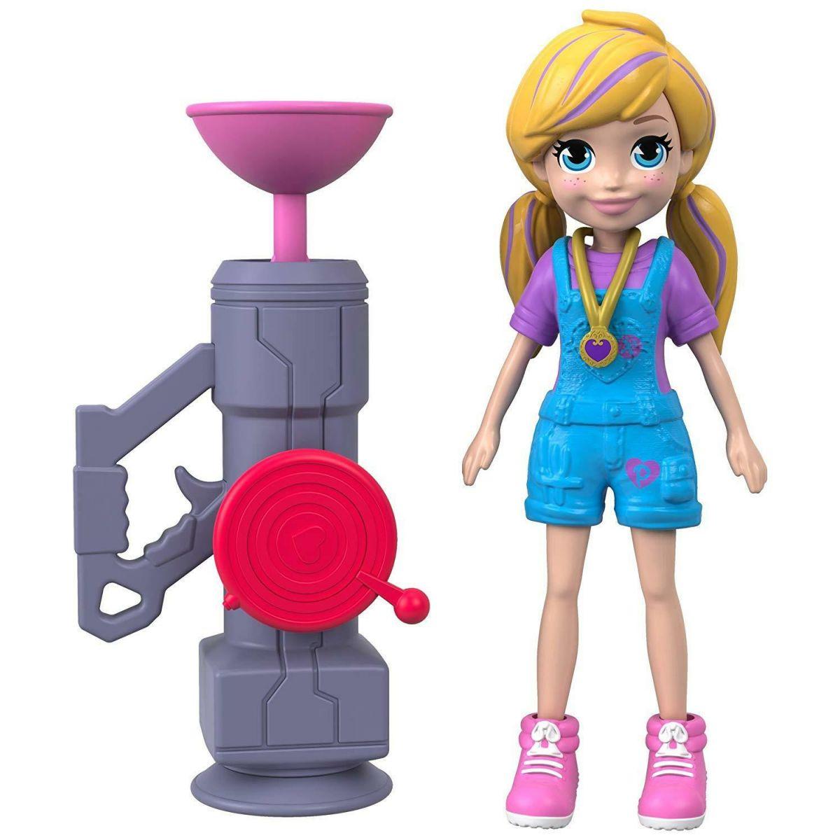 Mattel Polly Pocket športové bábika Zip N Blast Polly