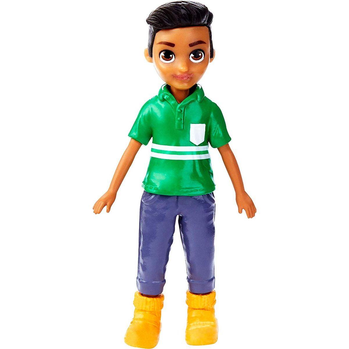 Mattel Polly Pocket štýlová bábika chalan 90