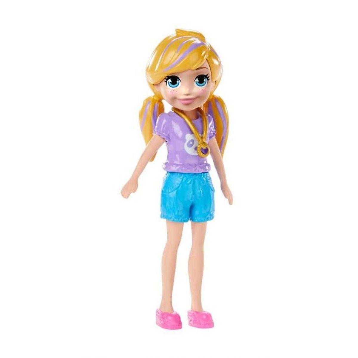 Mattel Polly Pocket štýlová bábika Polly kraťasy 23