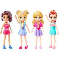 Mattel Polly Pocket štýlová bábika zelené šaty 00 2