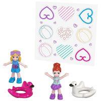 Mattel Polly Pocket svet do vrecka Flamingo Floatie 38 6