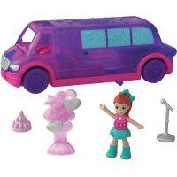 Mattel Polly pocket vozidlo fialový voz