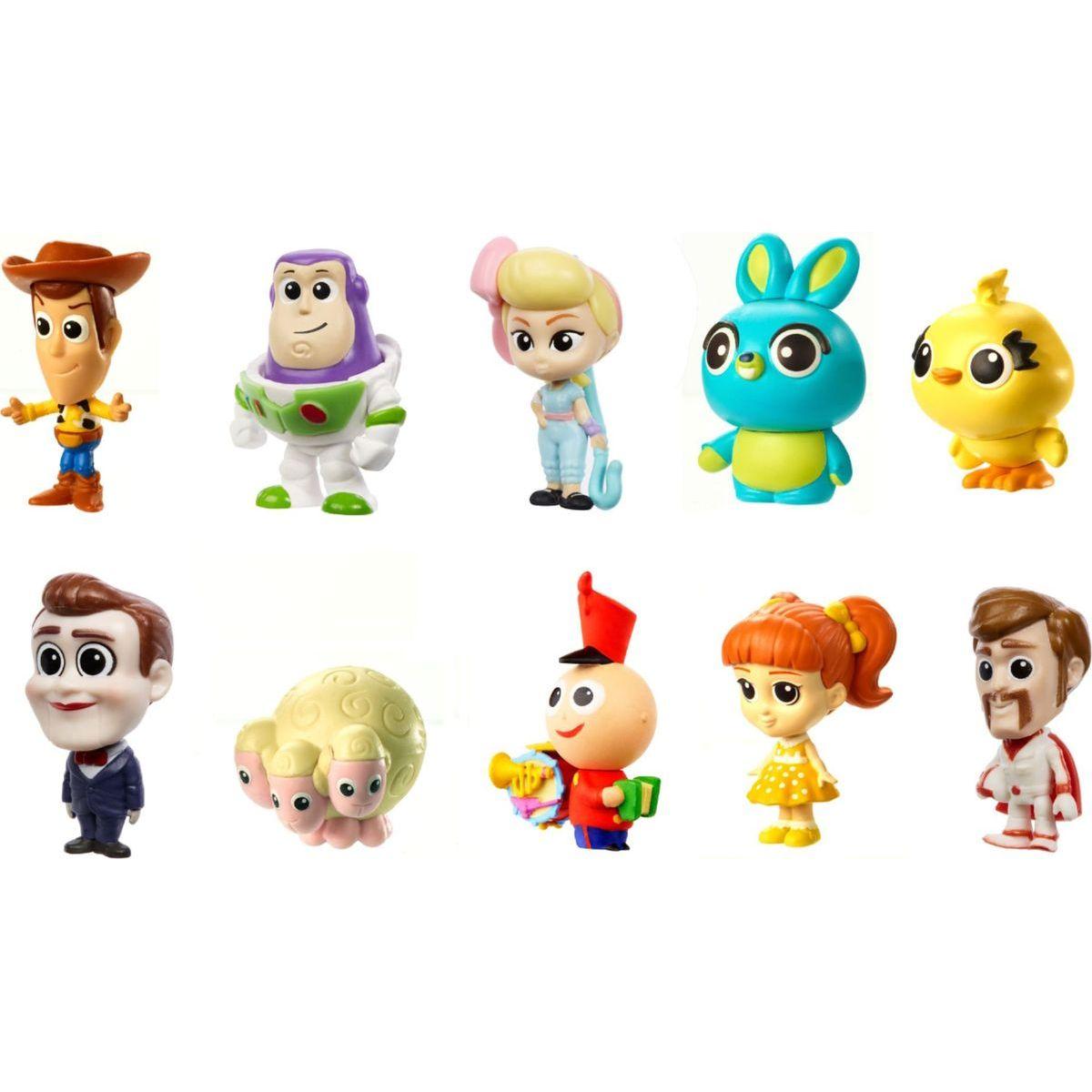 Mattel Toy story 4 minifigúrka 10 ks