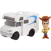 Mattel Toy story 4 minifigúrka s vozidlom Woody a RV