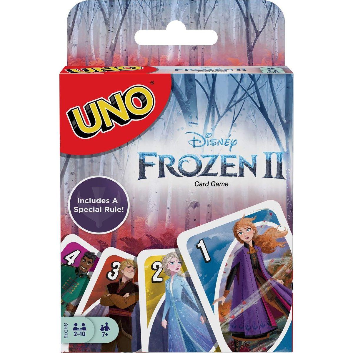 Mattel Uno Ľadové kráľovstvo 2