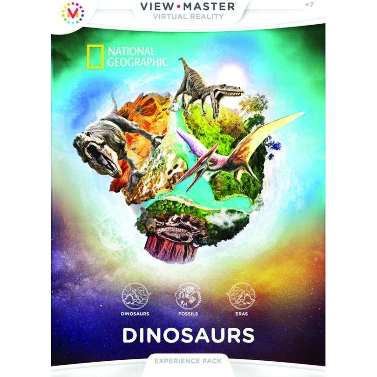 Mattel View Master Zážitkový balíček Dinosauri