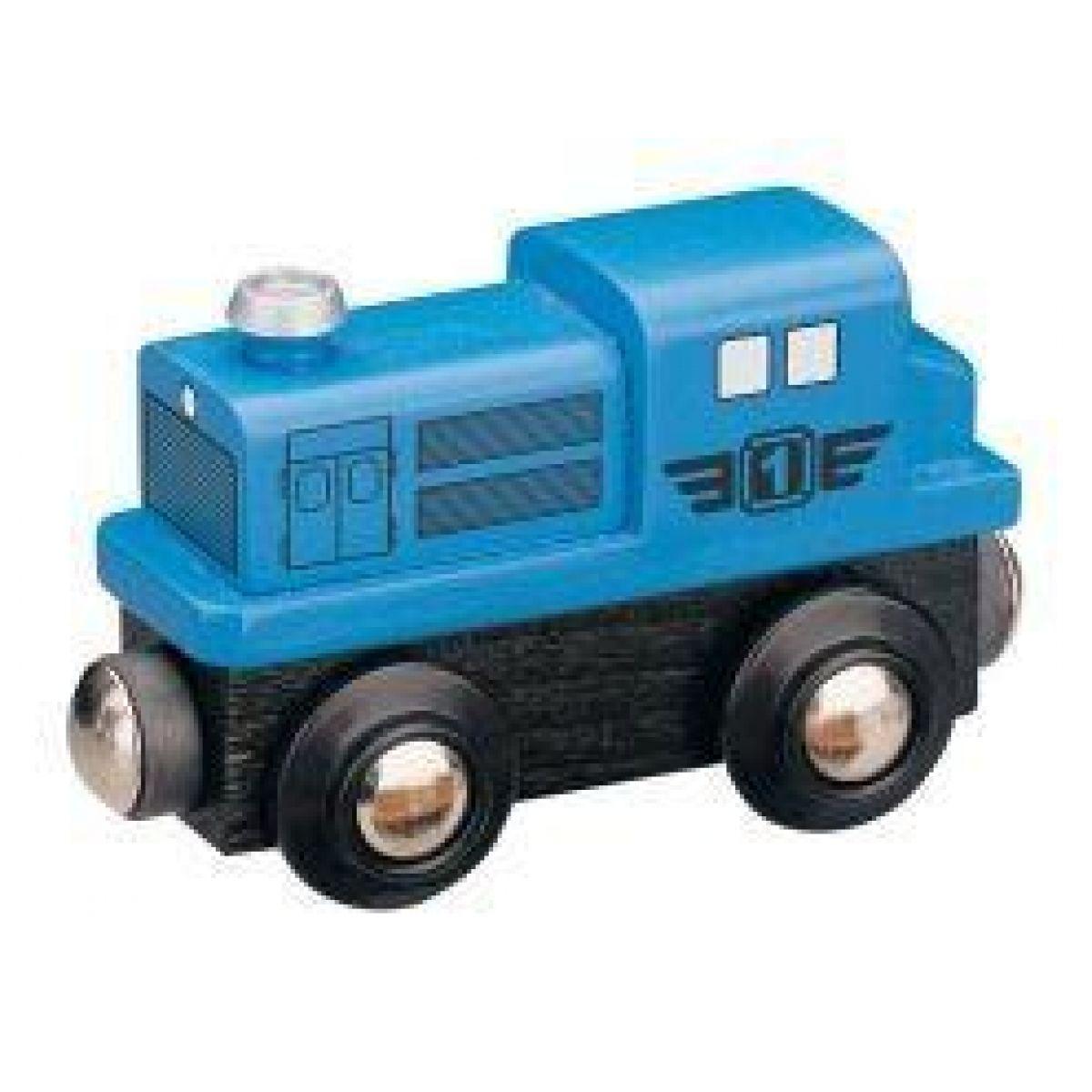 Mašinka Tomáš - lokomotíva dieselová modrá
