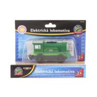 Maxim Elektrická lokomotíva zelená 50403 2