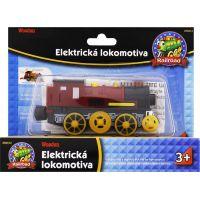 Maxim Elektrická lokomotíva červená 2