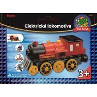 Maxim Elektrická lokomotíva červená 3