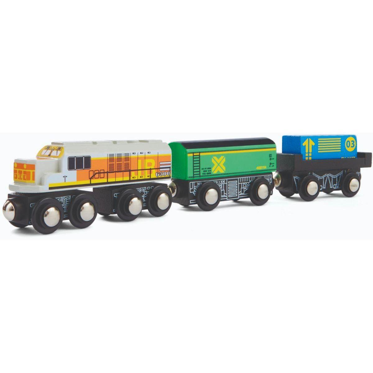 Maxim Nákladná súprava s bielou lokomotivou