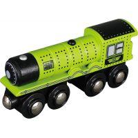Maxim Parná lokomotíva zelená