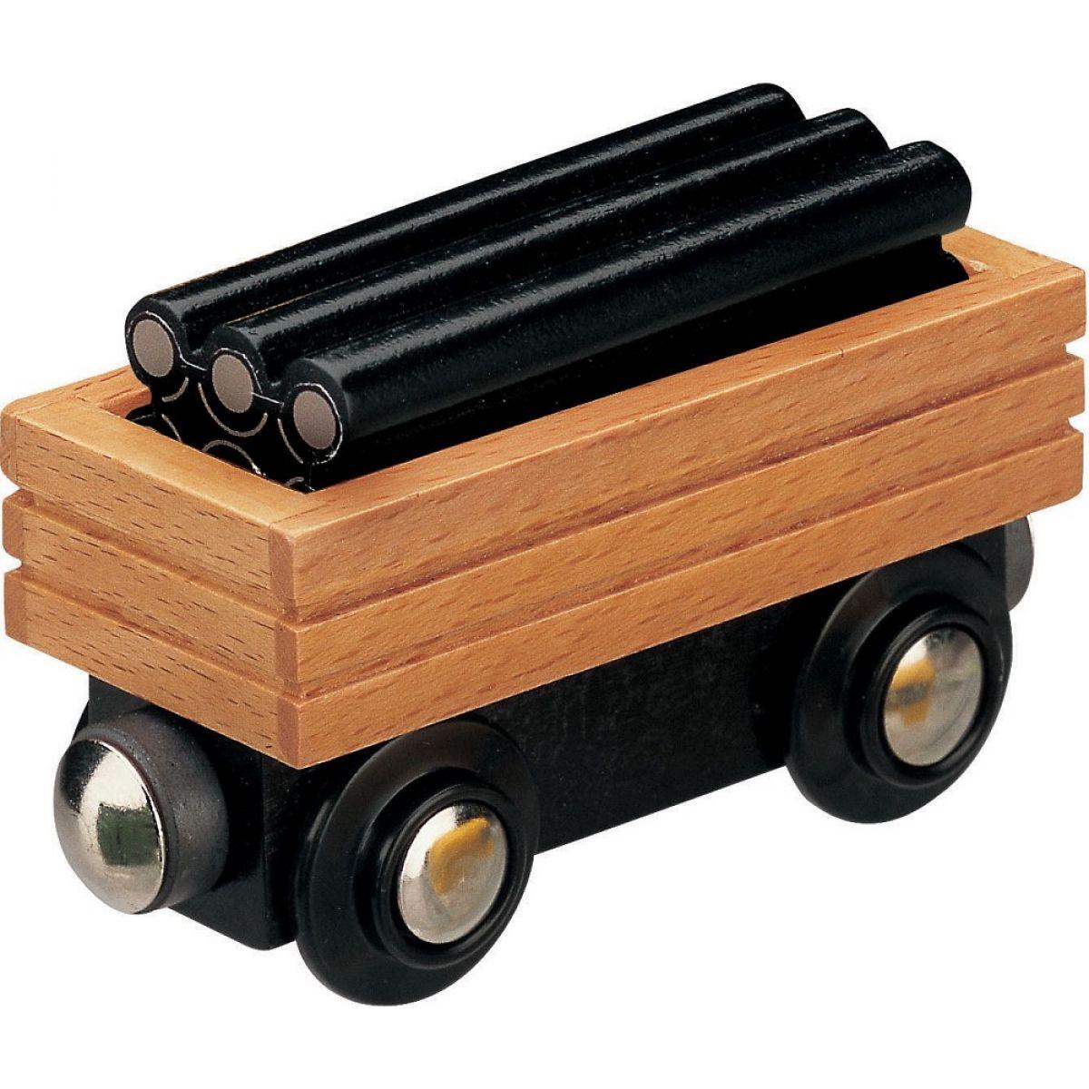 Mašinka Tomáš - vagón s potrubím