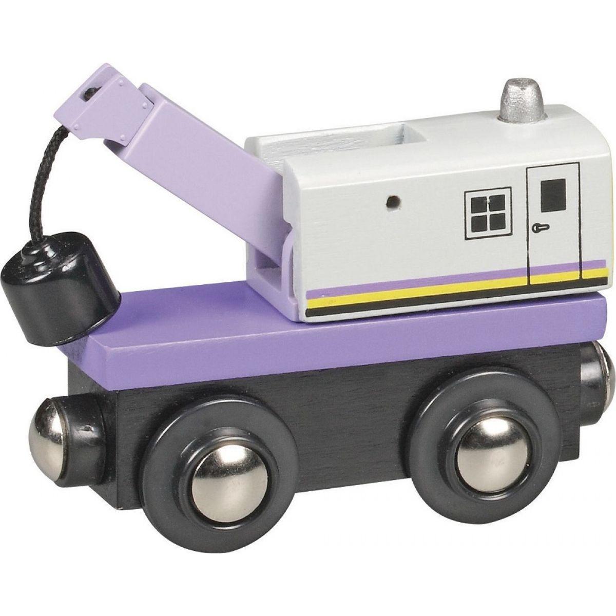 Mašinka Tomáš - žeriav železničný pojazdný