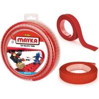 Mayka stavebnicová páska velká 2 m červená