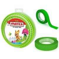 Mayka stavebnicová páska velká 2 m světle zelená