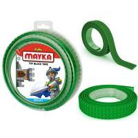 Mayka stavebnicová páska velká 2 m tmavě zelená