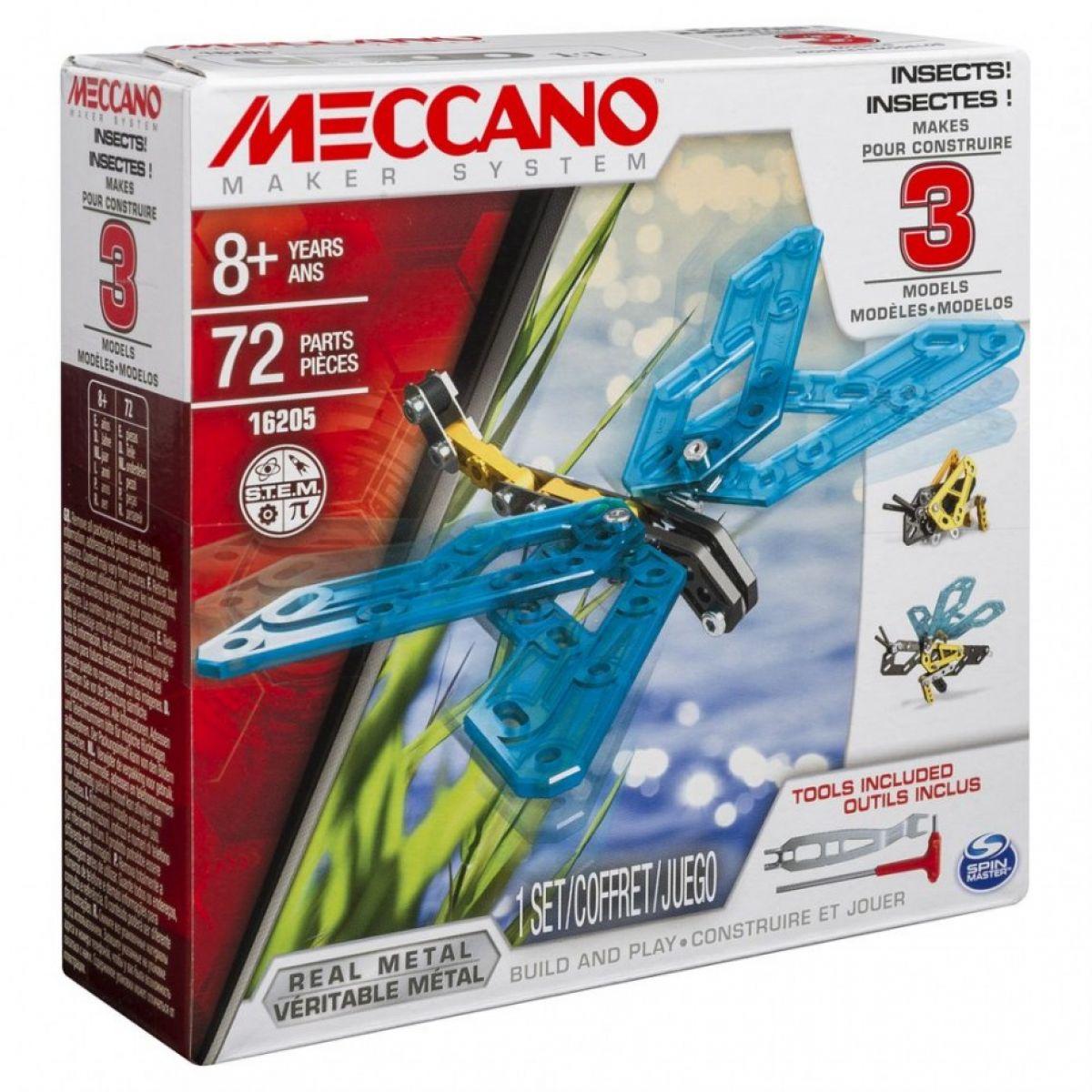 Meccano Hmyz 3v1