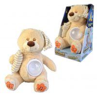 Medvídek Brumlík na spaní se světlem a melodií