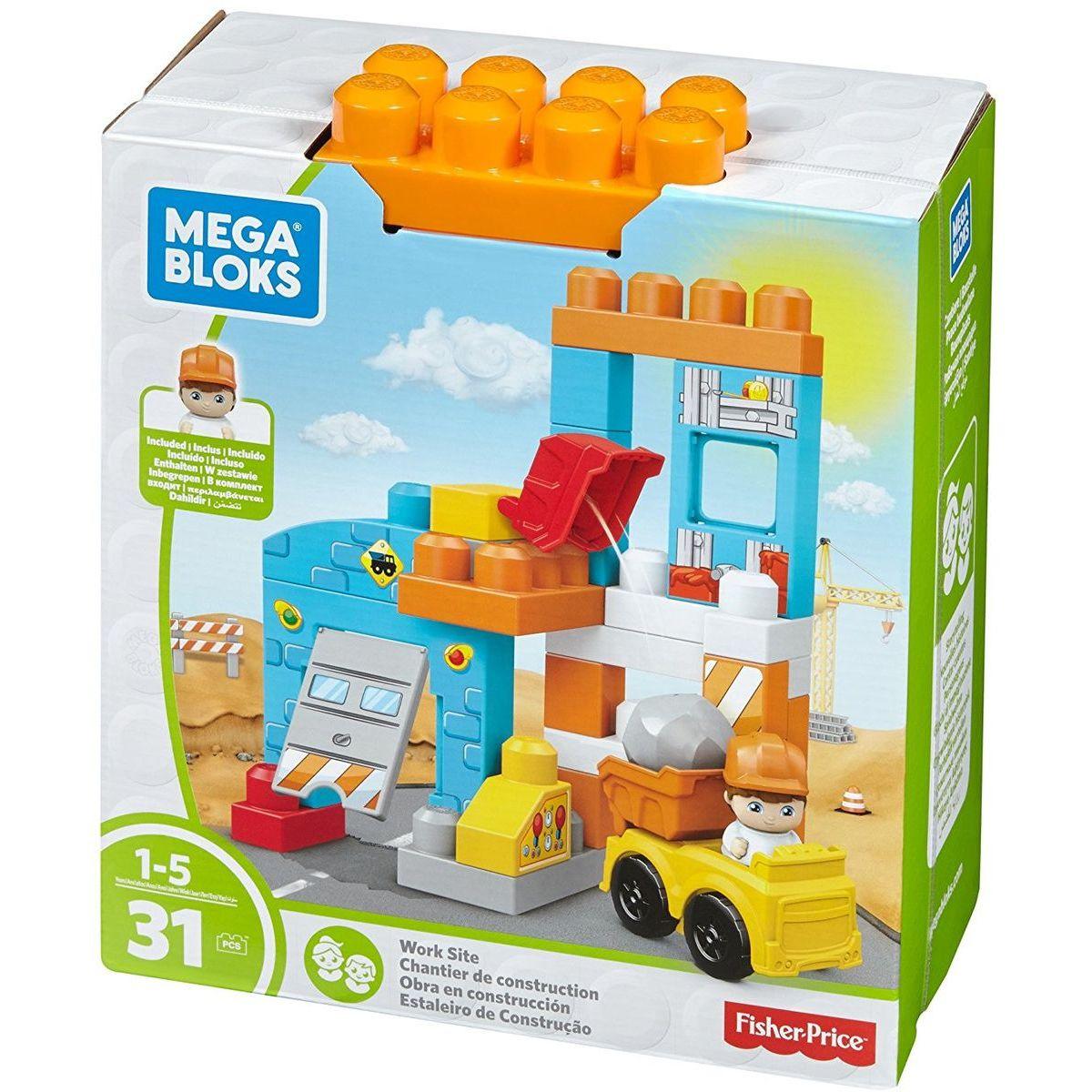 Mega Bloks Herní set pojď si hrát Garáž