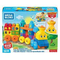Mega Bloks hudební vláček s písmenky - Poškozený obal  5