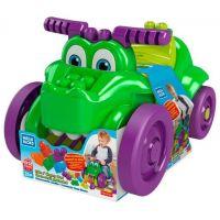 Mega Bloks zberač kociek krokodíl 2