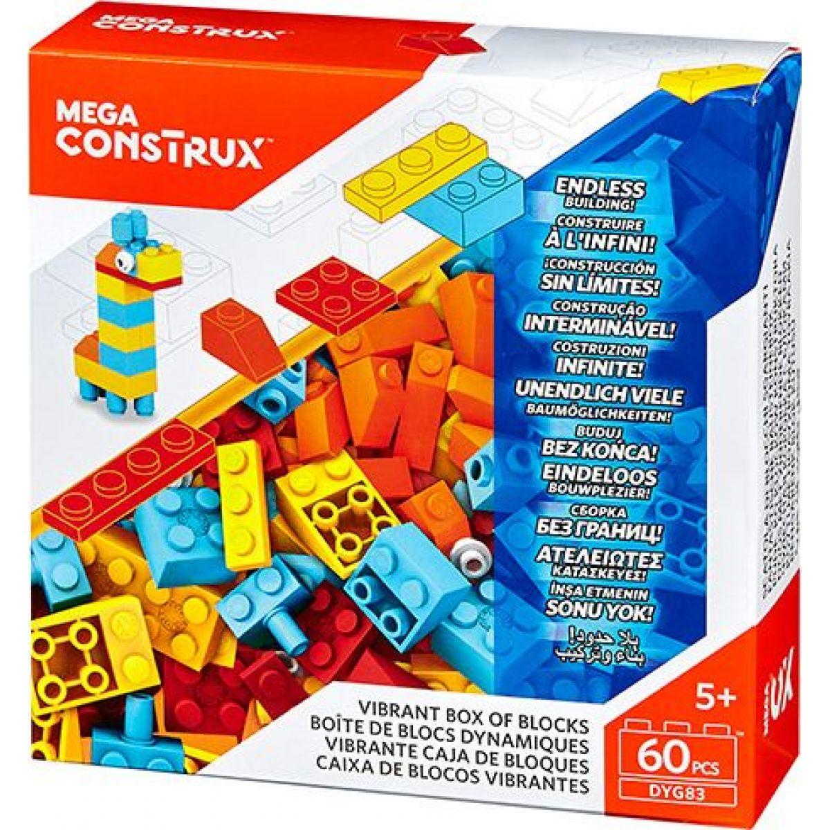 MEGA BLOKS Construx základní box kostek DYG83