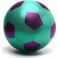 Mega míč textilní lesklý fialovo-zelený