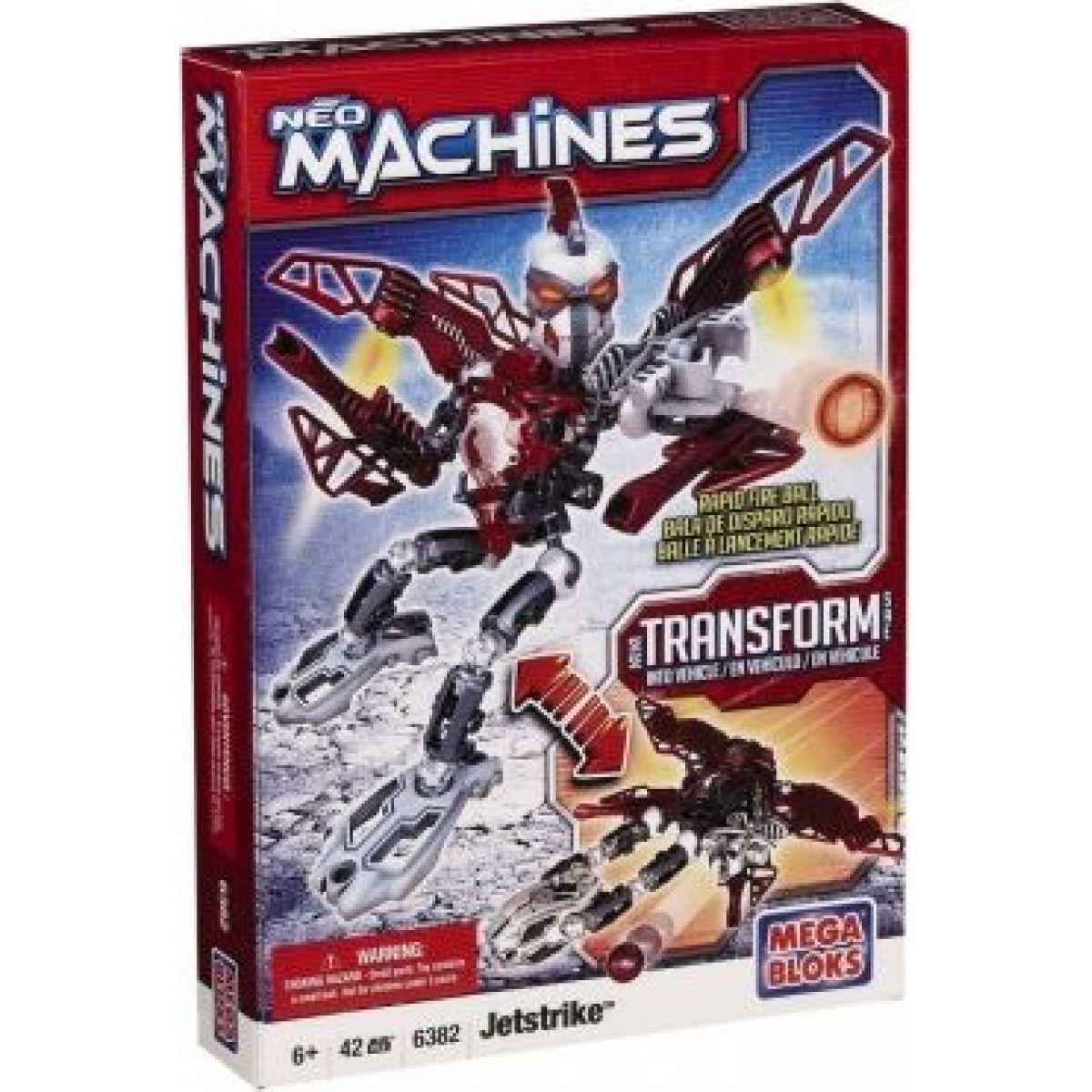 Mega Bloks 6382 Neo Machines Rapid Attack Jetstrike