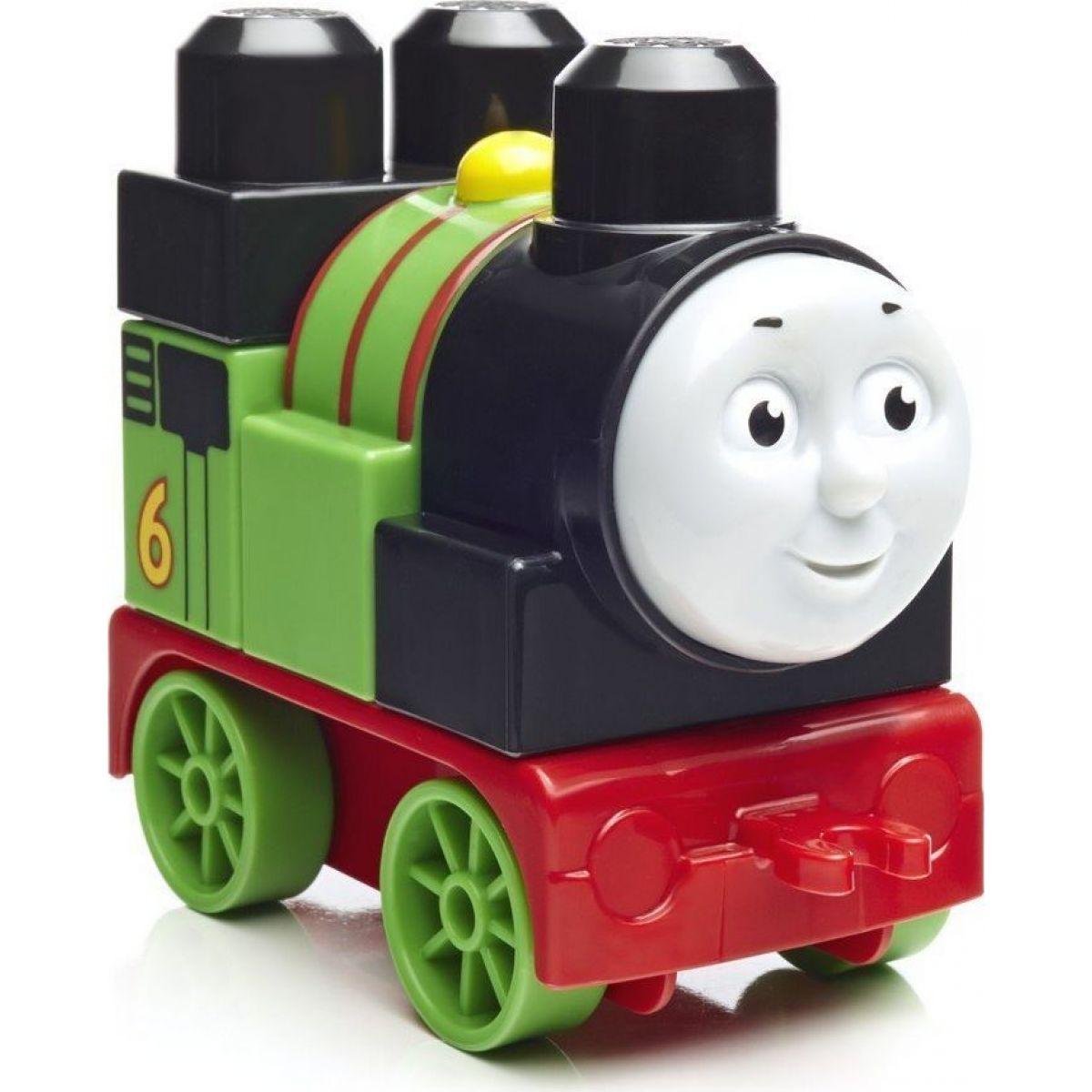 Mega Bloks mašinka Tomáš zmontujte SI lokomotívami Percy