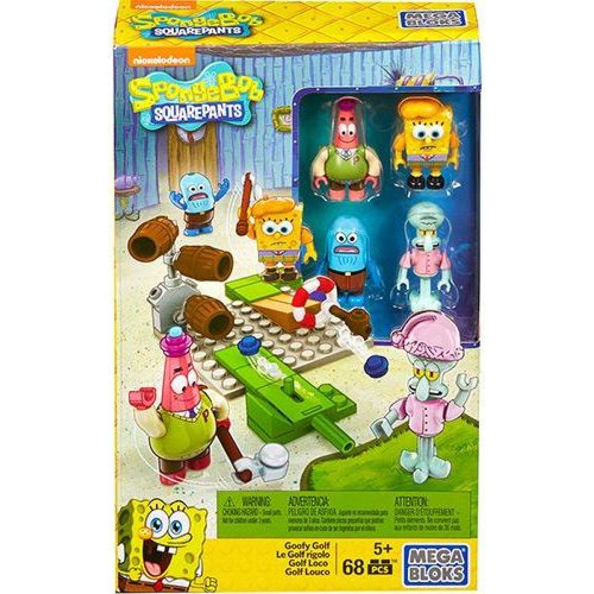 Mega Bloks Sponge Bob Stredný set