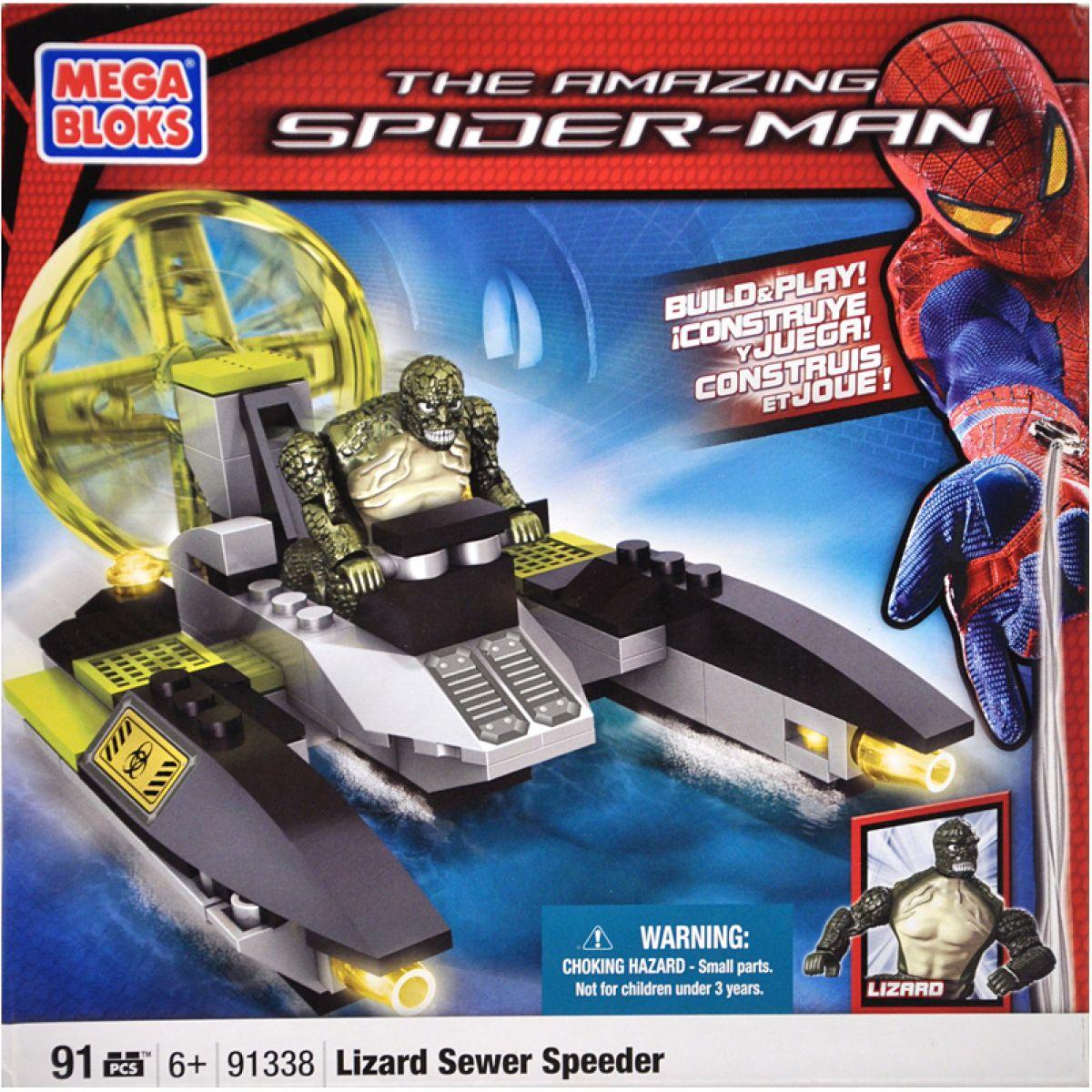 Mega Bloks 91338 MICRO Spiderman Speciální vozidlo