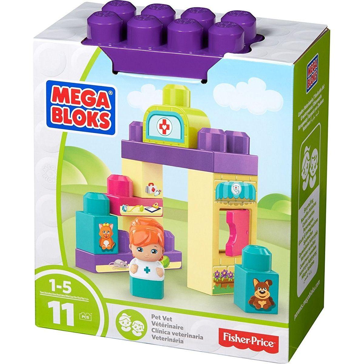 MEGA BLOKS Základný hrací set Veterinárka