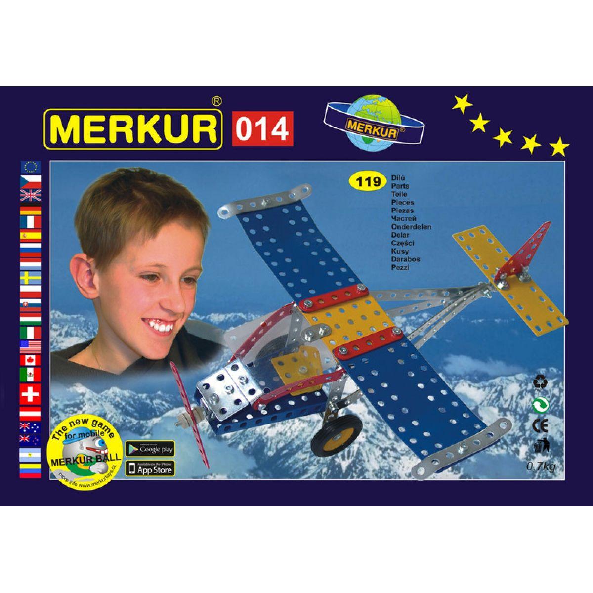 Merkur Stavebnice M 014 Lietadlo