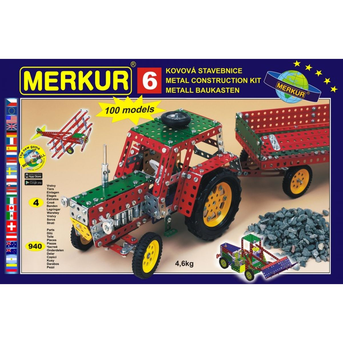Stavebnica Merkur 6