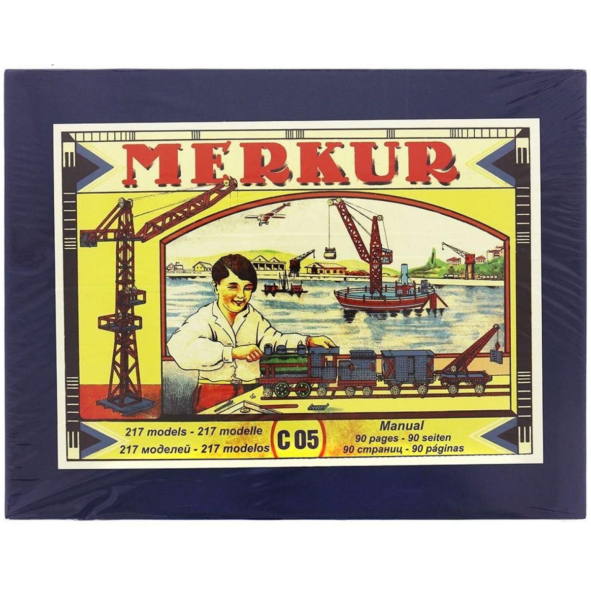 Merkur Stavebnica Classic C05 217 modelov