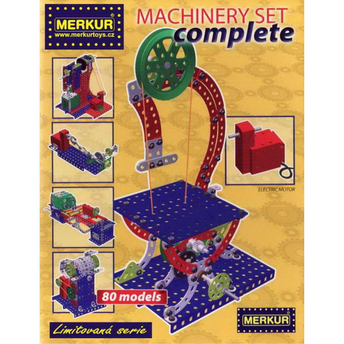 Merkur Stavebnice Machinery Set complete