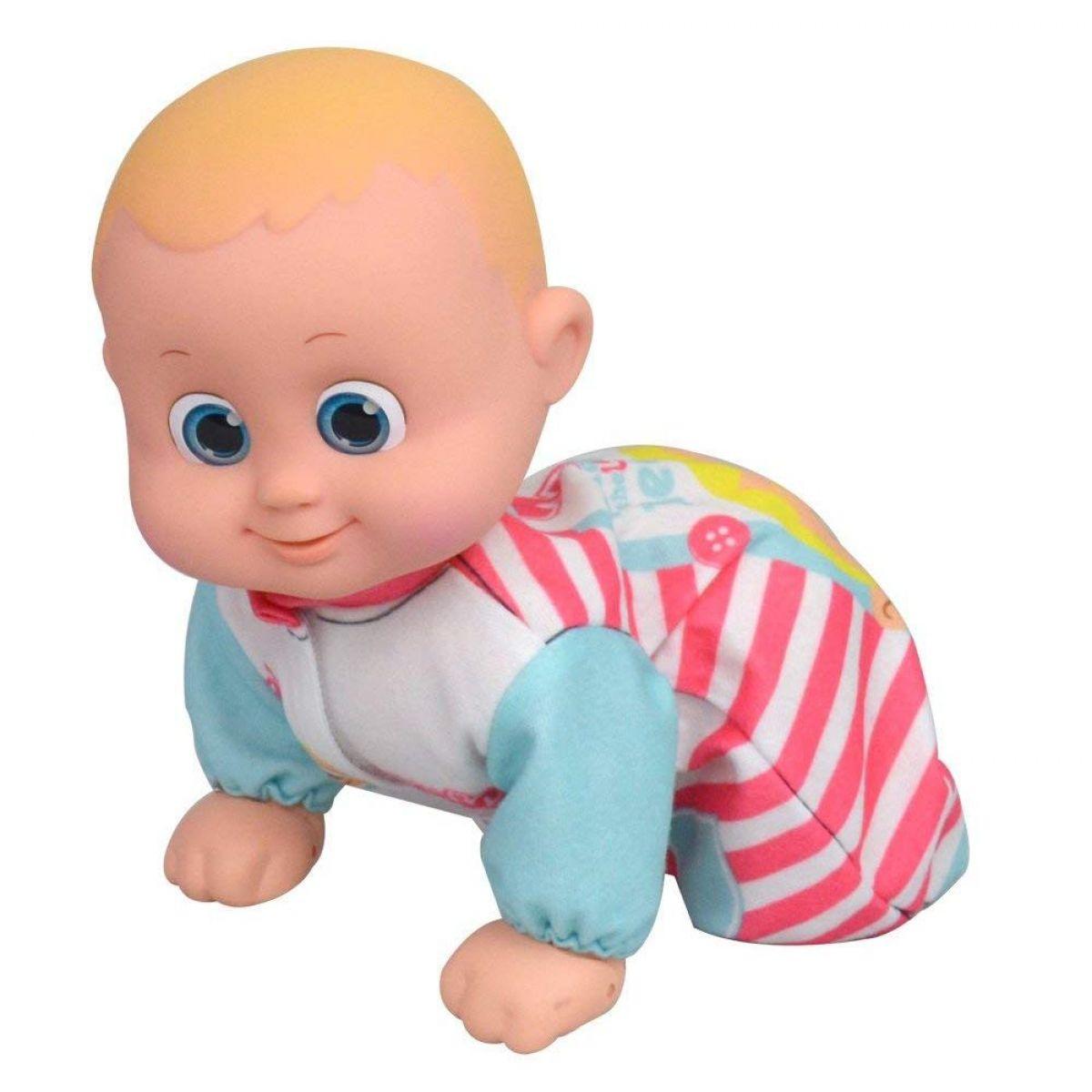 Bábätko Bouncin Babies lezúce Baniel a Bounie Poď k mamičke Chlapček