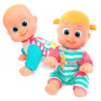Bábätko Bouncin Babies lezúce Baniel a Bounie Poď k mamičke Chlapček 3