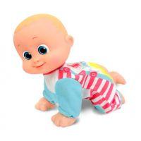 Bábätko Bouncin Babies lezúce Baniel a Bounie Poď k mamičke Chlapček 2