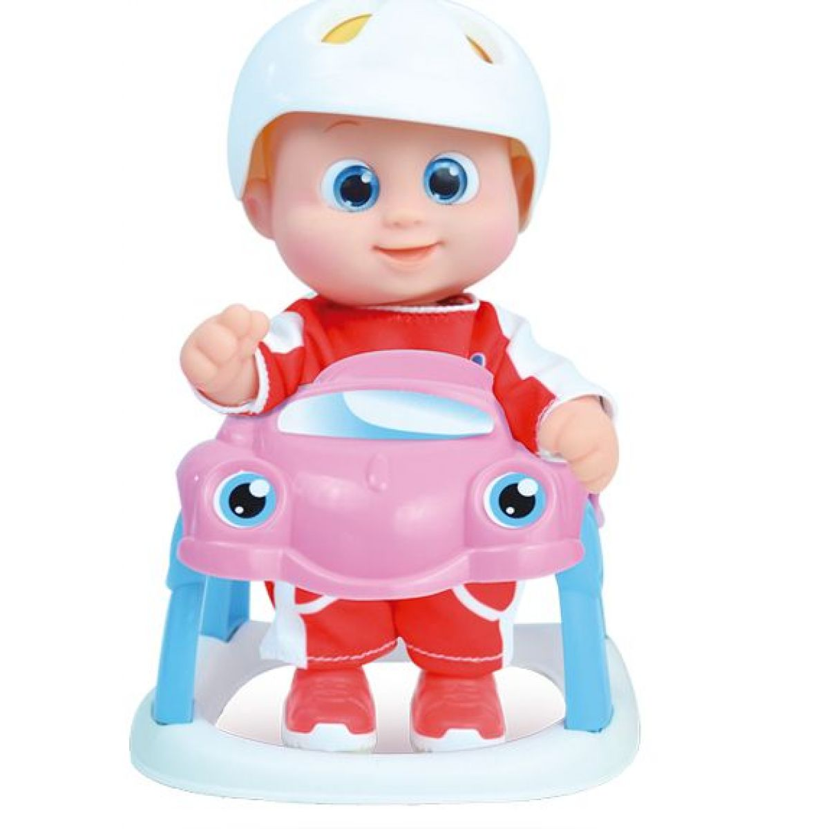 Bábätko Bouncin Babies v autíčku Baniel