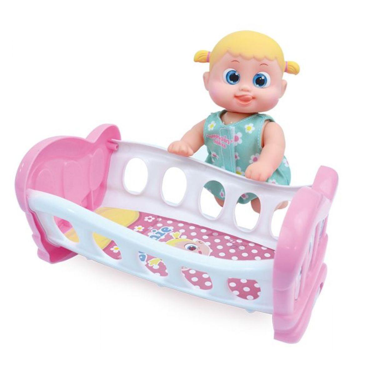 Bábätko Bouncin Babies v postieľke Bounie