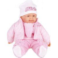 Bábätko veľké Dievča v zimnom oblečku 55 cm