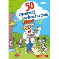 Mindok 50 experimentov na doma i na chatu
