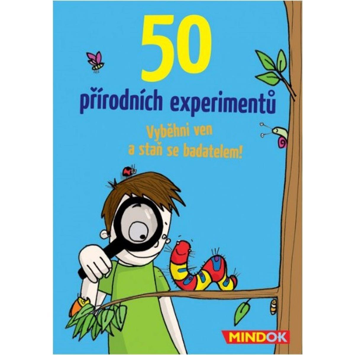 Mindok 50 prírodných experimentov
